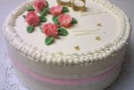 guľatá torta